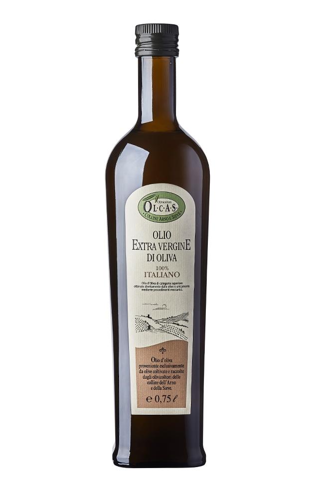 Olio Extravergine di oliva Olcas 1 l.