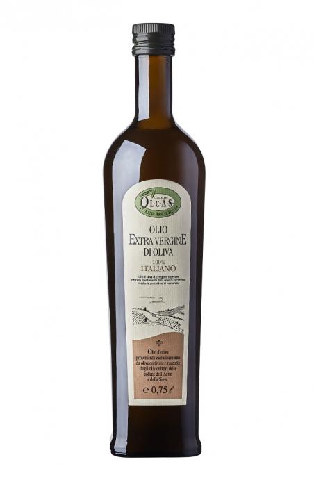 Olio Extravergine di oliva Olcas 0,75 l.