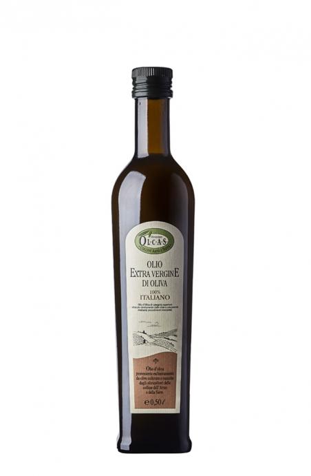 Olio Extravergine di oliva Olcas 0,50 l.