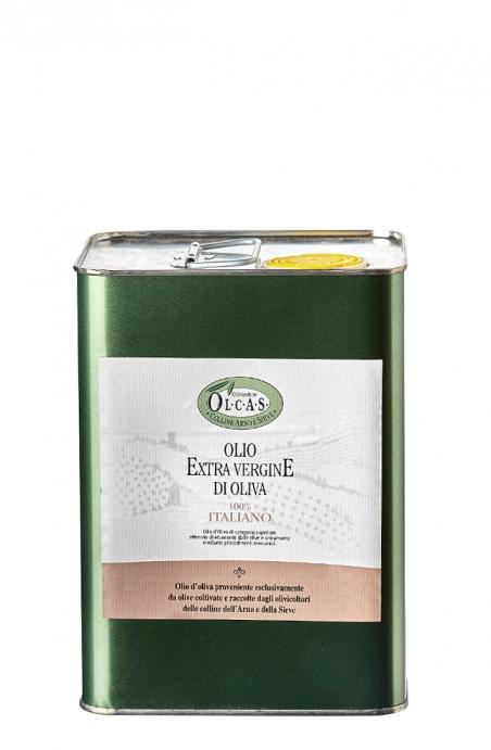 Olio Extravergine di oliva Olcas 3 l.