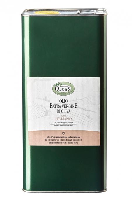 Olio Extravergine di oliva Olcas 5 l.